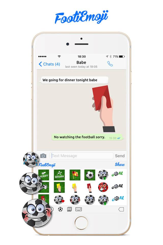 FootiEmoji The App Geeks